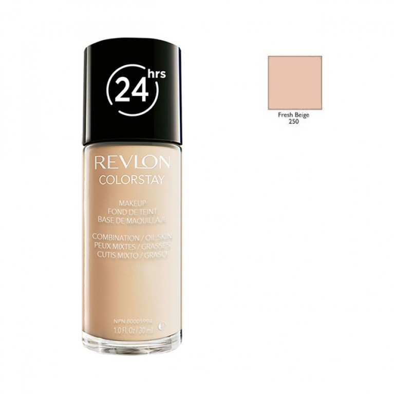 REVLON_ColorStay makeup combination/oily skin 250 Fresh Beige 30ml