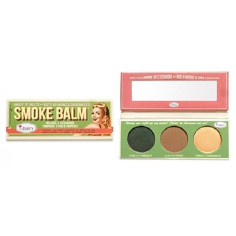 THE BALM_Smoke Balm Smokey Eye Palette paletka cieni do powiek Smoke2
