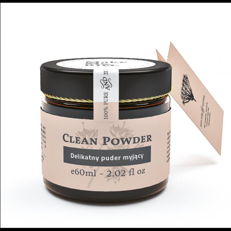 Clean Powder/ Delikatny puder myjący