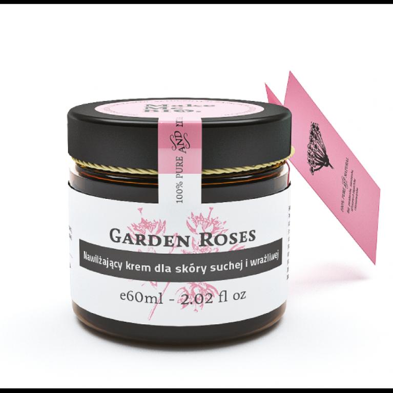 Garden Roses/ Nawilżający krem dla skóry suchej i wrażliwej