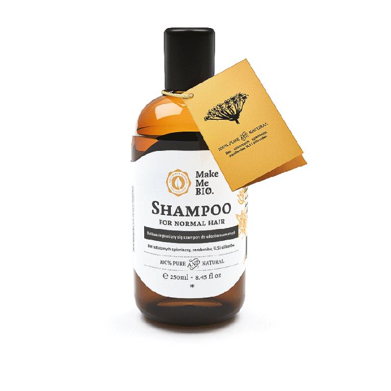 Delikatnie pieniący się szampon do włosów normalnych